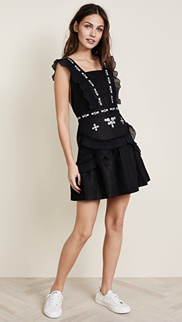 Stevie May Affirmation Linen Mini Dress