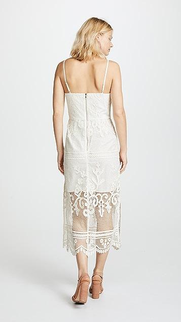 Stevie May Relais Midi Dress