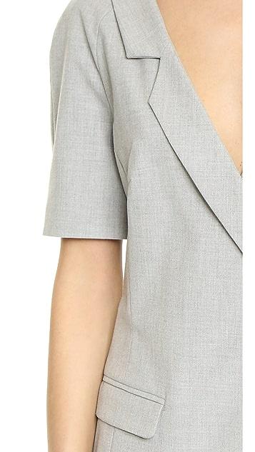ST Olcay Gulsen V Neck Tailored Dress