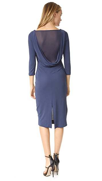 ST Olcay Gulsen Drape Back Dress