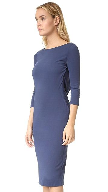 ST Olcay Gulsen Drape Back Dress