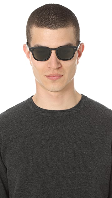 Steven Alan Optical Monroe Polarized Sunglasses