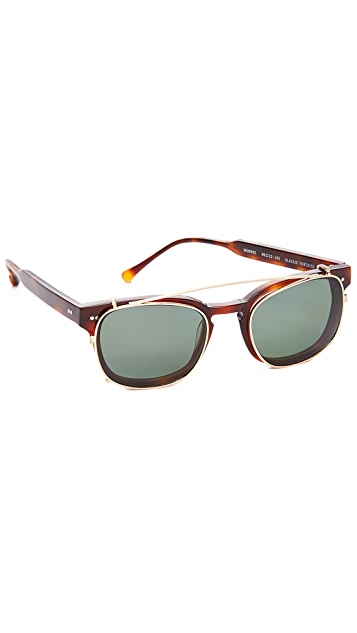 Steven Alan Optical Monroe Clip Sunglasses