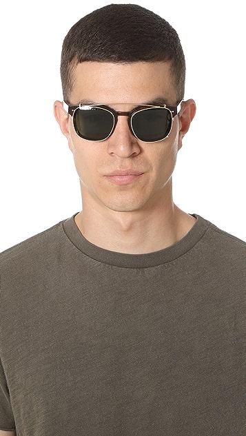 Steven Alan Optical Monroe Clip Sunglasses