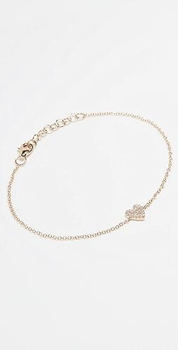 Stephanie Gottlieb - Mini Pave Heart Bracelet