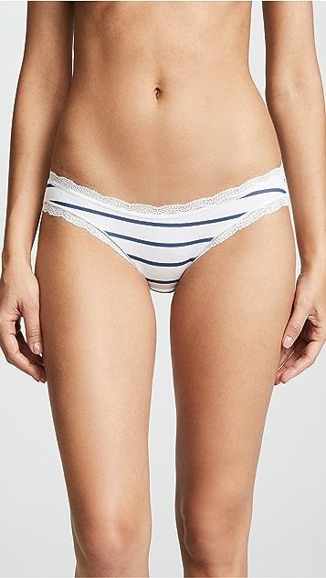 Stripe & Stare Classic Stripe Bikini Briefs 4 Pack