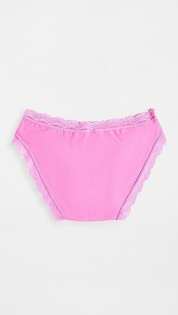 Stripe & Stare Days of The Week Bikini Briefs - 8 Pack