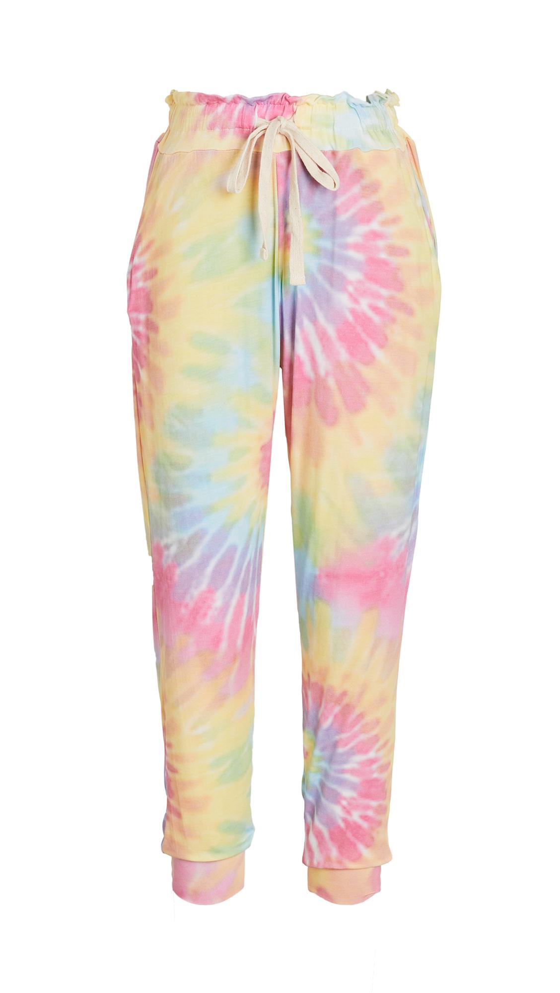 Stripe & Stare Tie Dye Lounge Pants