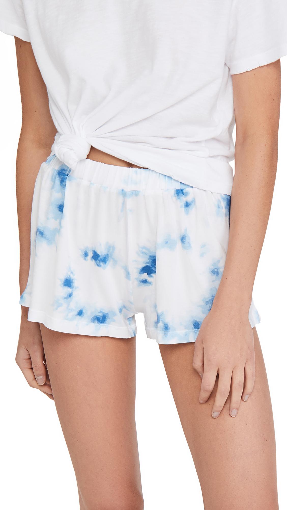 Stripe & Stare Cali Tie Dye Bed Shorts