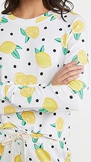Stripe & Stare Lemonade 运动衫