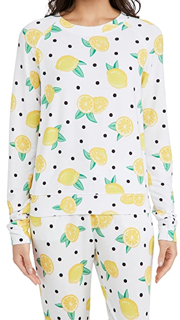 Stripe & Stare Lemonade Sweatshirt