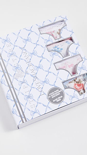 Stripe & Stare x LOVESHACKFANCY Panty Box Set