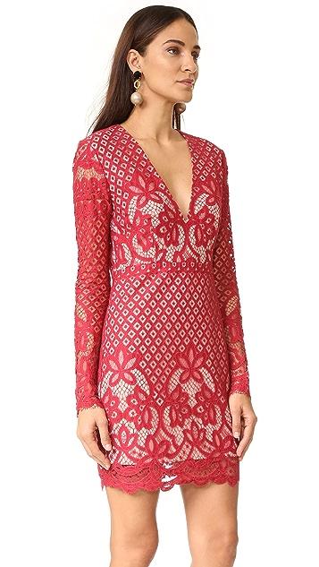 STYLESTALKER Lani Long Sleeve Dress