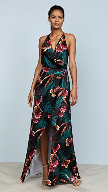 STYLESTALKER Evelyn Floral Maxi Dress - Floral