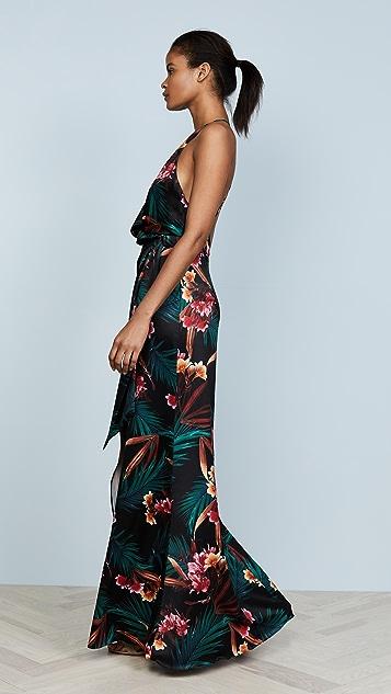 STYLESTALKER Evelyn Floral Maxi Dress
