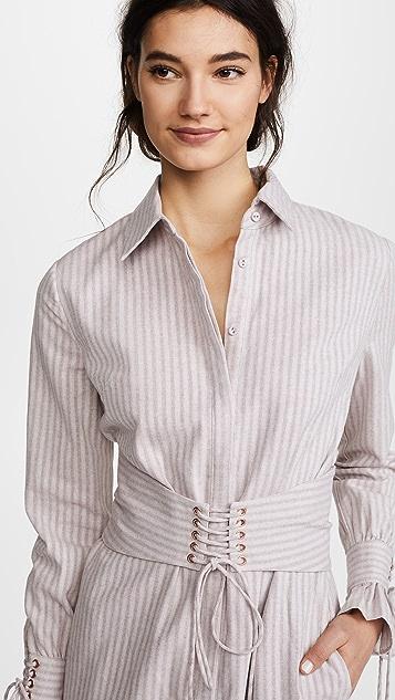 STYLESTALKER Mackenzie Shirtdress