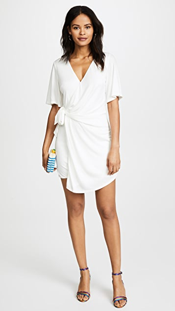 STYLESTALKER Laney Shift Dress - Blanc