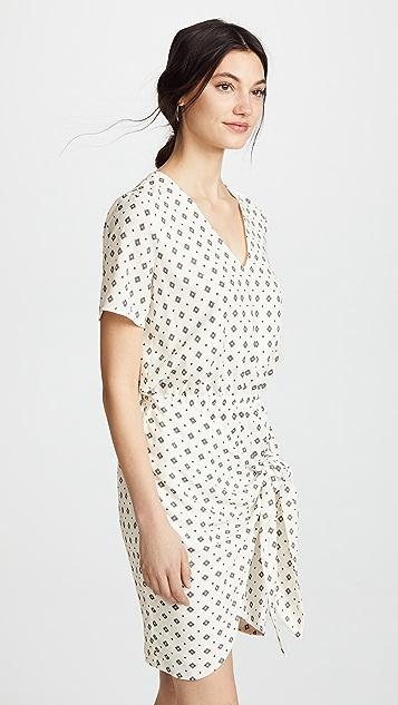 STYLESTALKER Lyra Wrap Dress