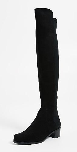 Stuart Weitzman - Reserve Stretch Suede Boots