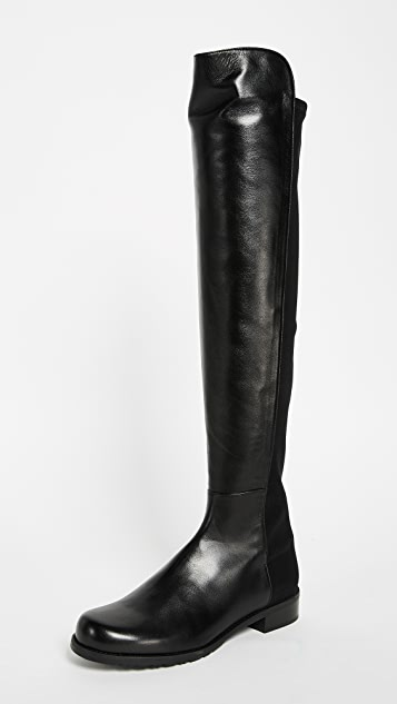 5050 Flat Boots by Stuart Weitzman