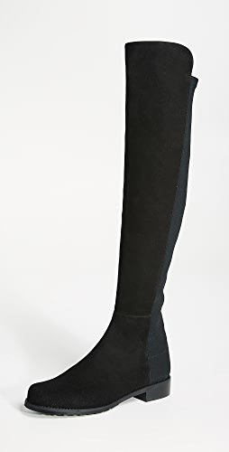 Stuart Weitzman - 5050 Stretch Suede Boots