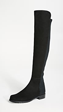 5050 Stretch Suede Boots