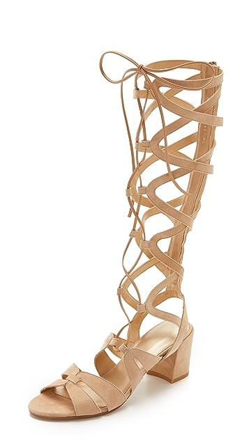 Stuart Weitzman Grecian Gladiator Sandals ...