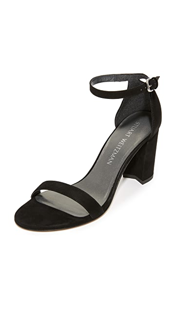 Nearlynude Sandals by Stuart Weitzman