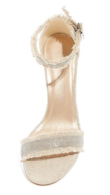 Stuart Weitzman Chaingang Sandals