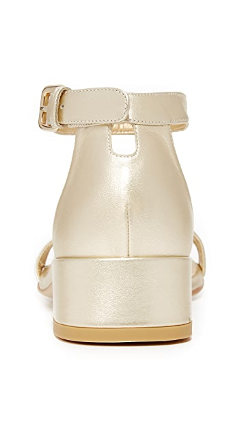 Stuart Weitzman Nudist June City Sandals
