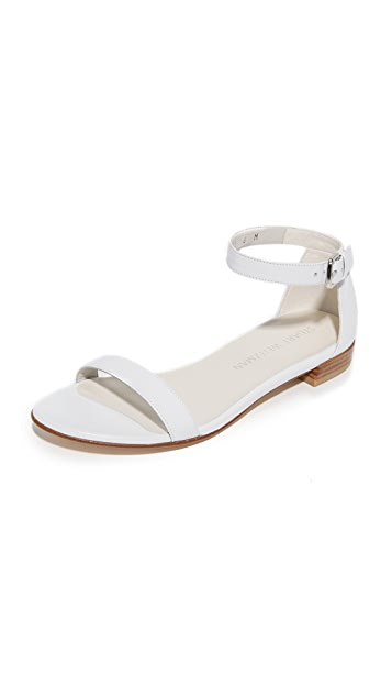 Stuart Weitzman Nudist Flat Sandals