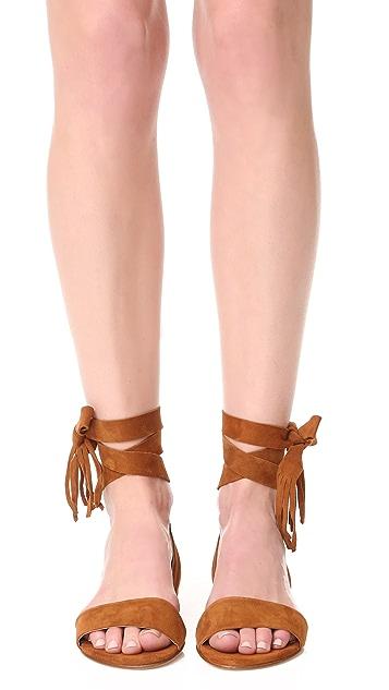Stuart Weitzman Corbata Wrap Sandals