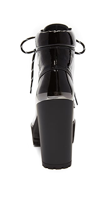 Stuart Weitzman Rugged Platform Booties