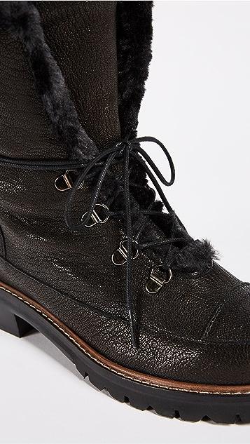 Stuart Weitzman Luge Hiking Boots