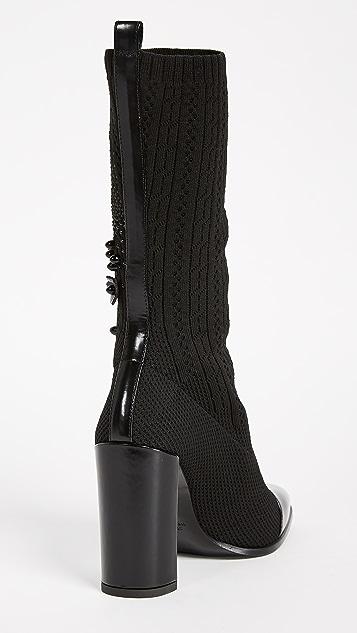 Stuart Weitzman Sock Hop Boots