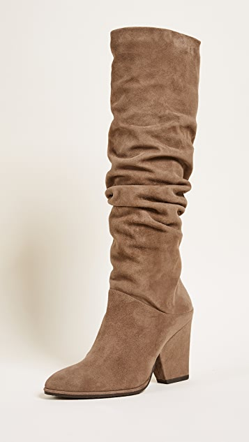 Stuart Weitzman Smashing Knee High Boots - Nutmeg
