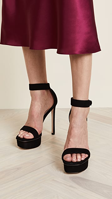 Stuart Weitzman Backup sandals