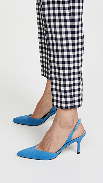 pay with visa sale online Stuart Weitzman Sleek slingback pumps latest collections for sale great deals sale online find great cheap price NHszmdOx