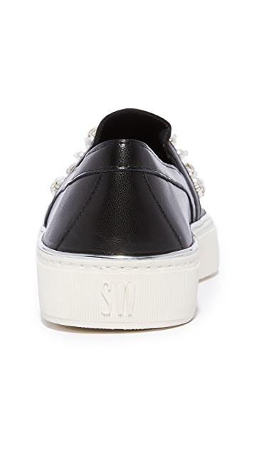 Stuart Weitzman Decor Slip On Sneakers