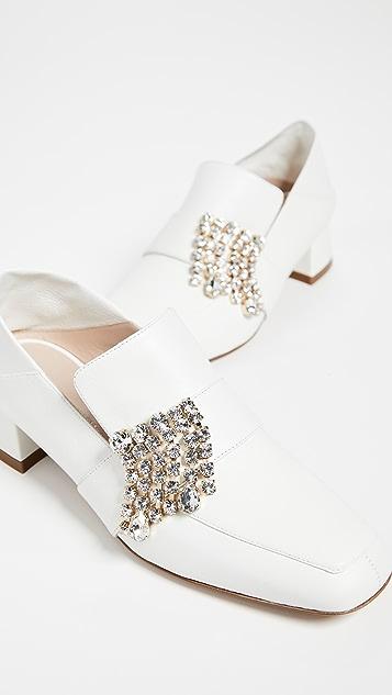 Stuart Weitzman Irises Convertible Loafers