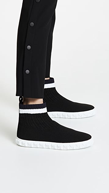 Stuart Weitzman Coverall Knit Sneakers