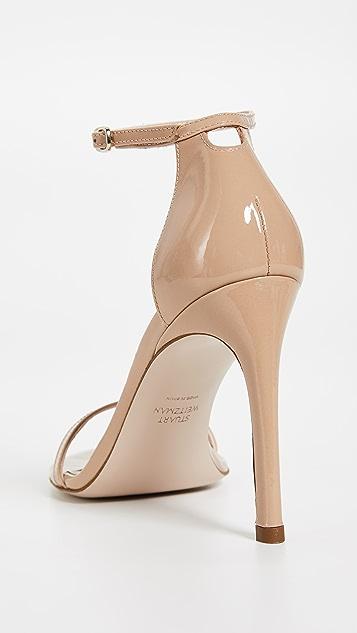 Stuart Weitzman Nudistsong 90 毫米凉鞋