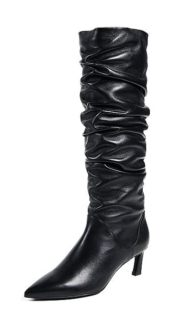 Stuart Weitzman Benatar Tall Scrunch Boots