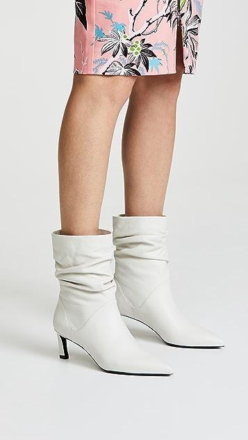 Stuart Weitzman Demibenatar Scrunch Boots