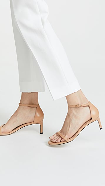Stuart Weitzman Nudist Traditional 45mm Sandals