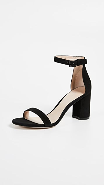 Stuart Weitzman Less Nudist 75mm Sandals