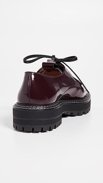 Stuart Weitzman Jesper Oxford Shoes