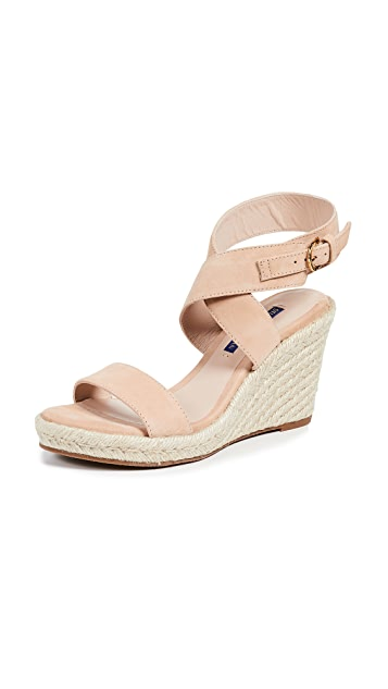 Stuart Weitzman Lexia Wedge Sandals