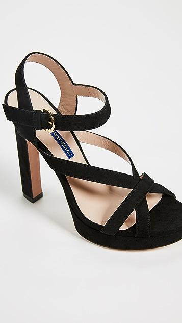 Stuart Weitzman Cersei Platform Sandals