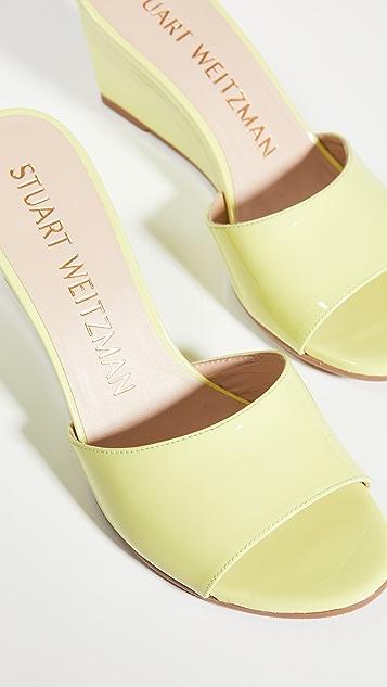 Stuart Weitzman Larunda Wedge Sandals